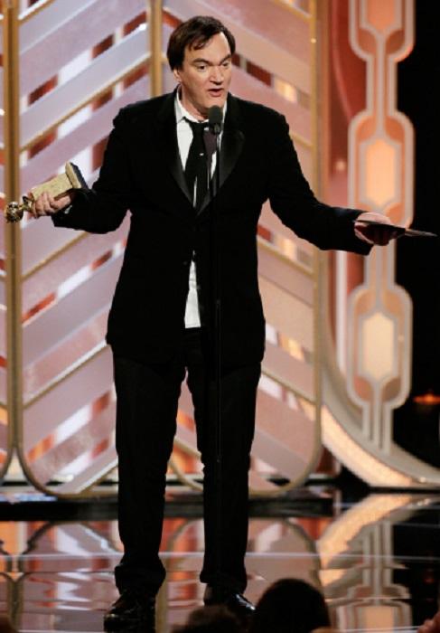 Получение награды вместо композитора Энио Морриконе за лучший саундтрек к фильму «Омерзительная восьмерка».