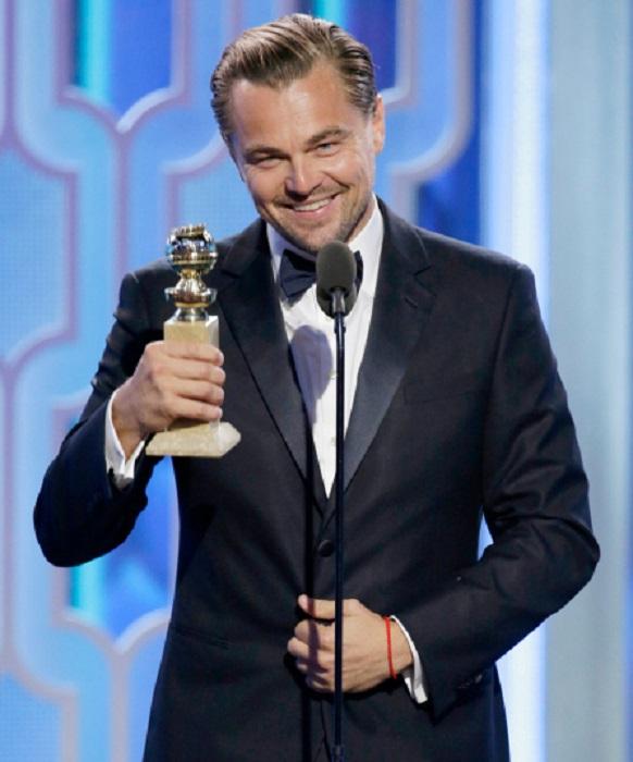 Победитель в категории «Лучший актёр в драматическом фильме» за роль Хью Гласса в фильме «Выживший».