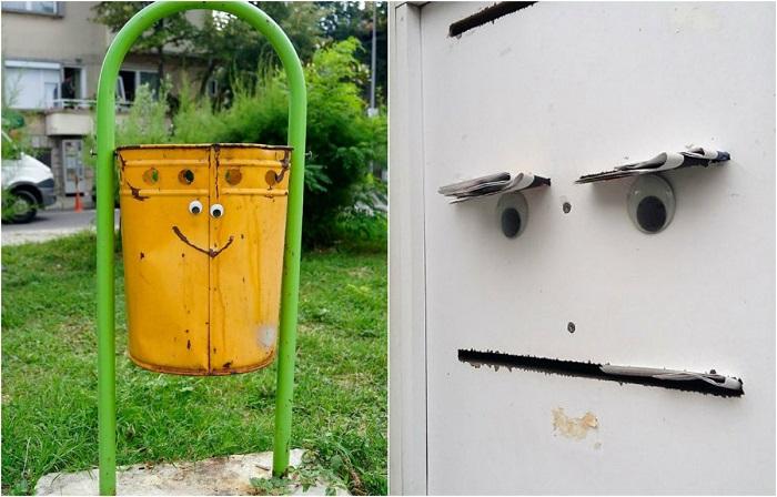 «Очеловеченное» уличное искусство.