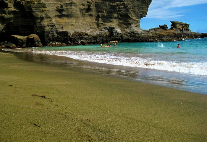 Пляж Зеленого Песка.