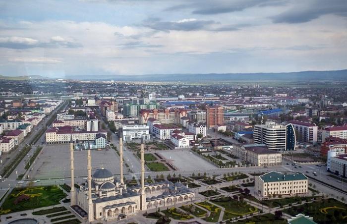 Современный Грозный не похож ни на один из российских городов.