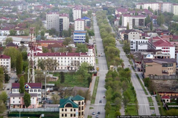 Городское озеленение в Грозном ведется ежегодно.