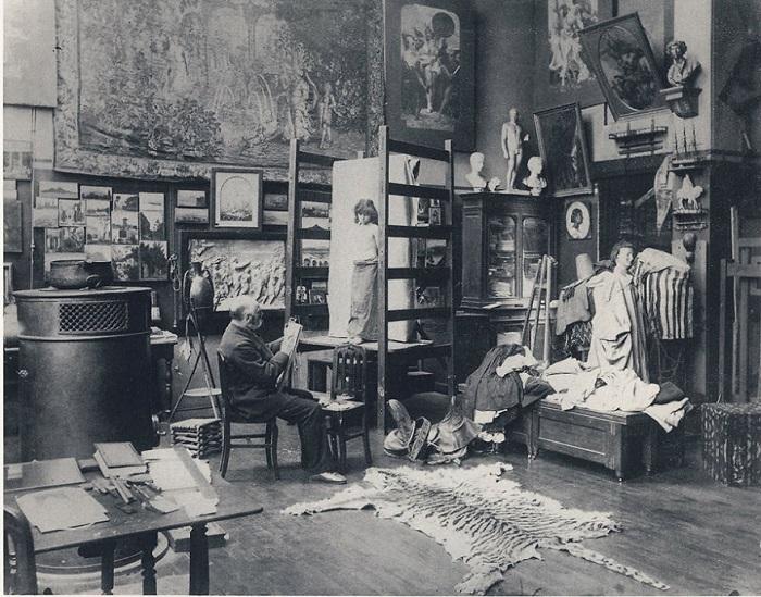 Студия французского художника, представителя салонной живописи и ориенталиста.