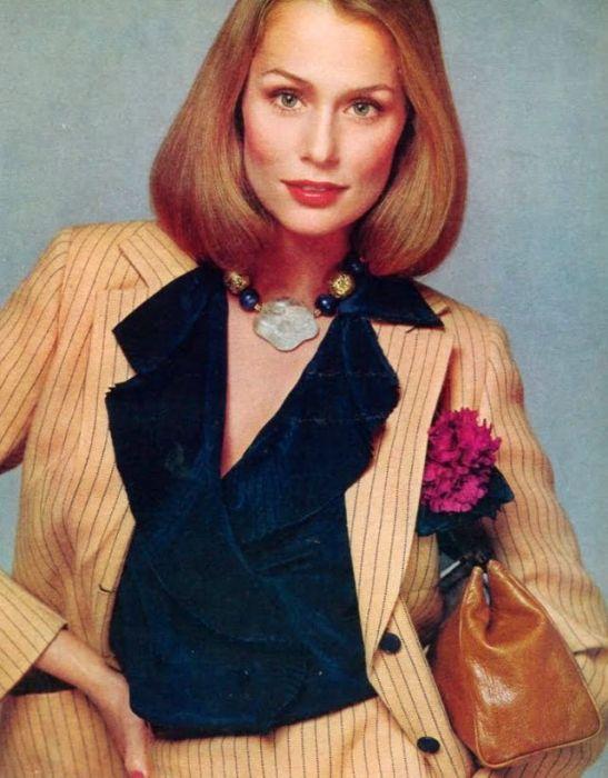 Лорен Хаттон, 1975 год.