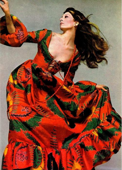 Анжелика Хьюстон, 1971 год.