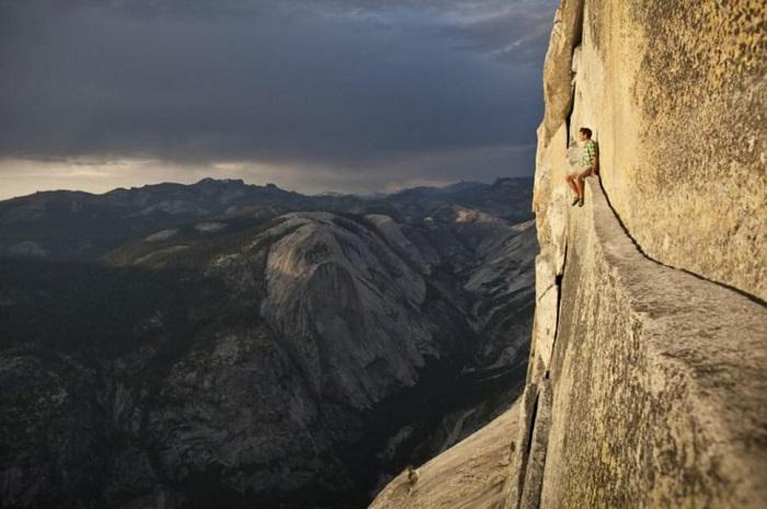 Половина купола является настоящей визитной карточкой национального парка Йосемити.