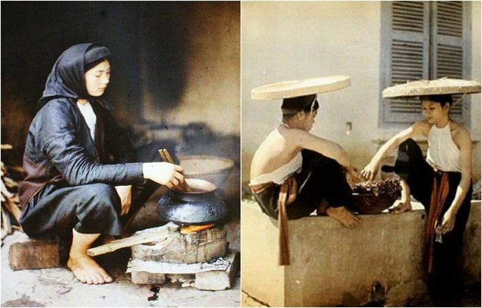 Уникальные цветные фотографии Ханоя.