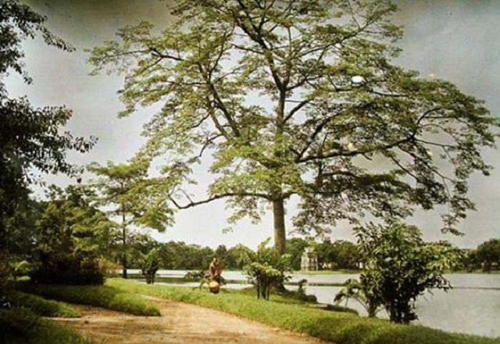 «Озеро возвращённого меча» или «Озеро зелёной воды».