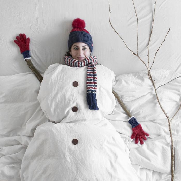 Когда хочется провести время, укутавшись в теплое одеяло…