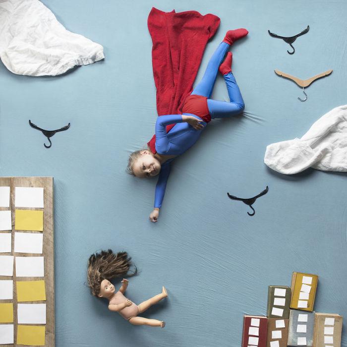 Новая серия снимков стала отличным развлечением для детей во время весенних каникул.
