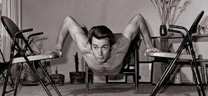 Режиссер, актер, сценарист - с ранней молодости держал себя в прекрасной физической форме.