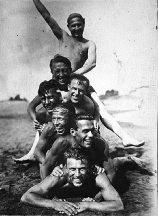 Открытые, оптимистичные и светлые лица, советских людей, 1935 год.