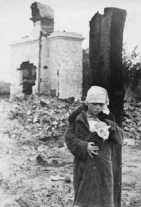 Трагичное возвращение домой, Московская обл, 1942 год.