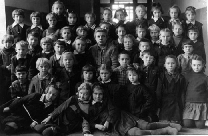 Начальные классы, 1950 год.