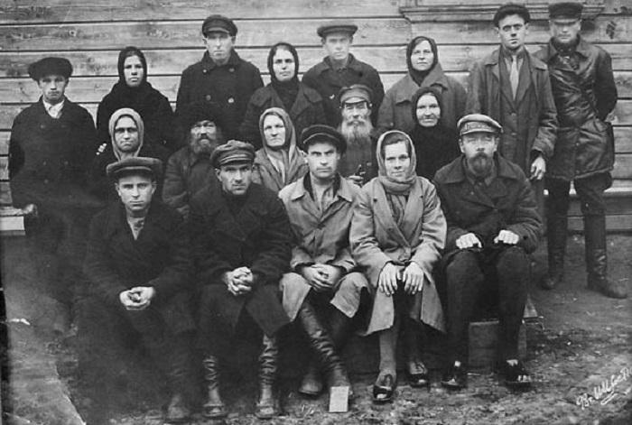 Павло-Посадский р-н Московской обл, начало 30-х годов.