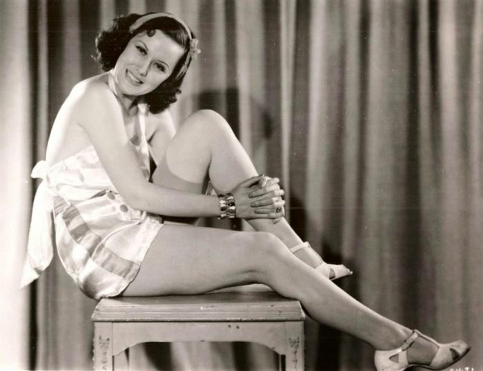 Известная киноактриса 1930-х годов.