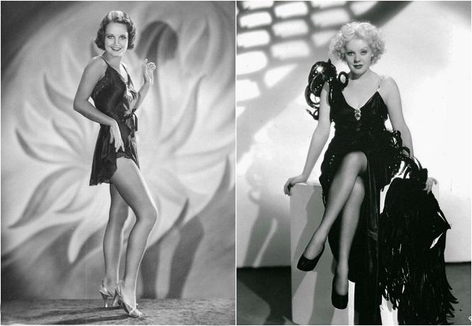 Самые красивые голливудские кинодивы 1930-х годов.