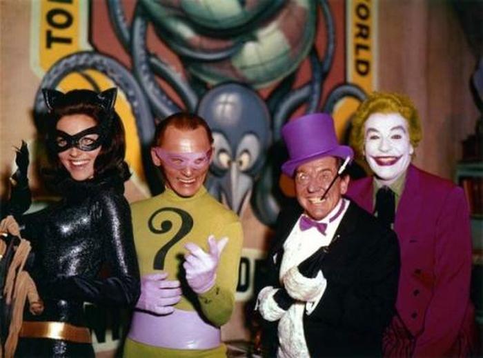 Первый состав актеров «Бэтмена».