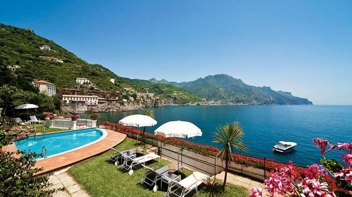 Palazzo Avino – роскошный пятизвездочный отель, расположенный на Амальфитанском побережье на высоте 350 метров над уровнем моря.
