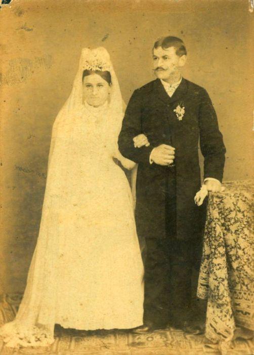 Свадебная мода в XIX веке.