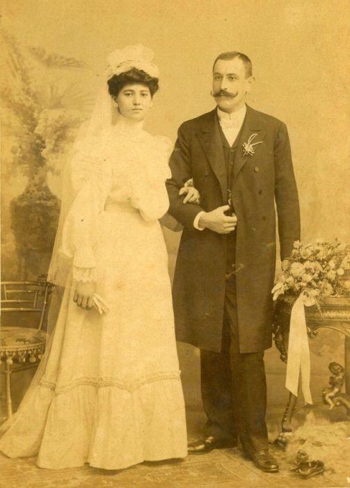 Свадьба на рубеже XIX – ХХ веков.