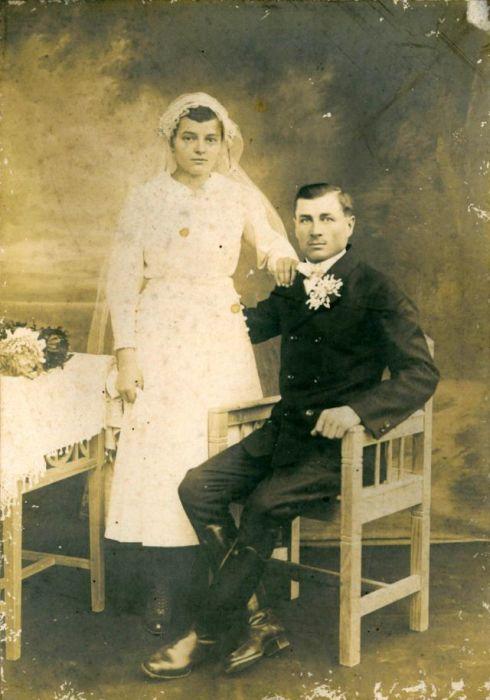 Викторианская свадебная мода.