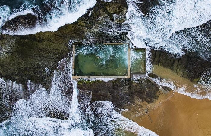 Обладатель 1-го места в категории «С воздуха» - австралийский фотограф Тодд Кеннеди (Todd Kennedy).