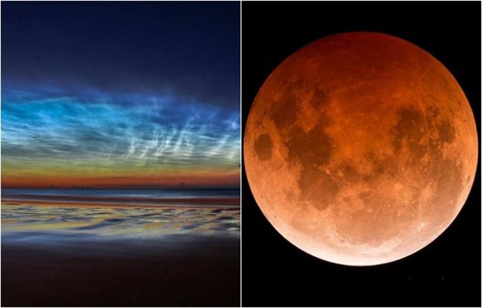 Работы победителей астрономического фотоконкурса.