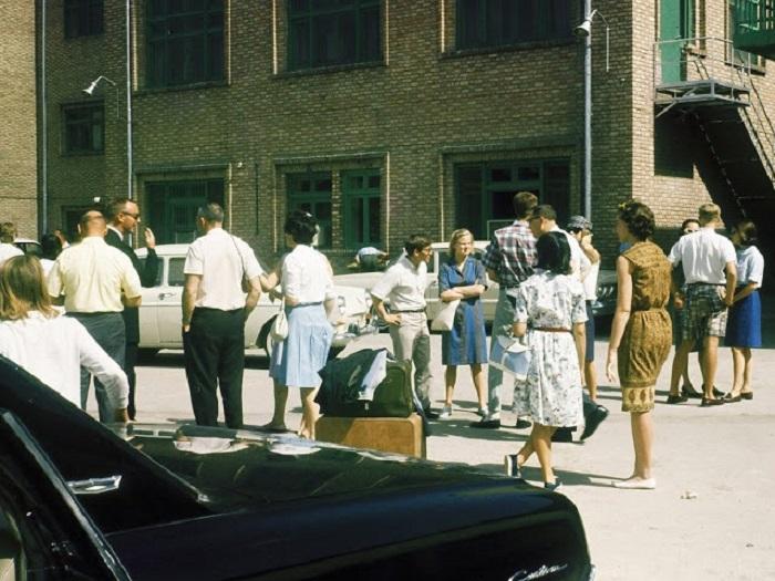 Первая американская школа за пределами США в Тегеране после переворота в 1953 году.