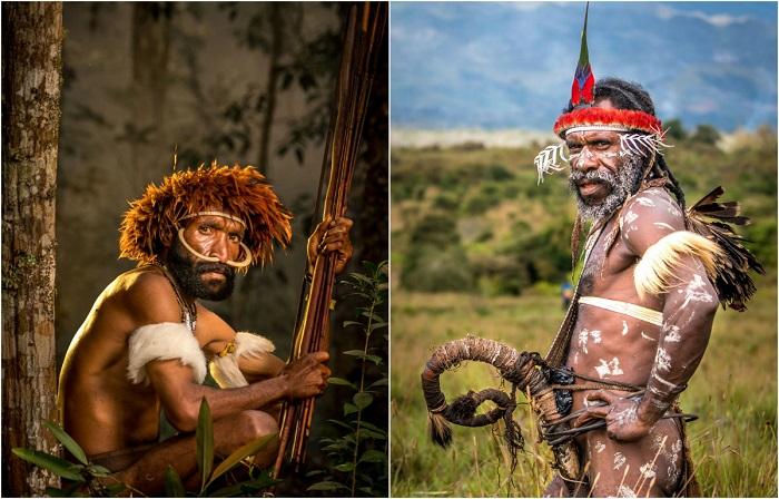Одно из самых изолированных племен, живущее глубоко в горах Западной Новой Гвинеи, Индонезия.