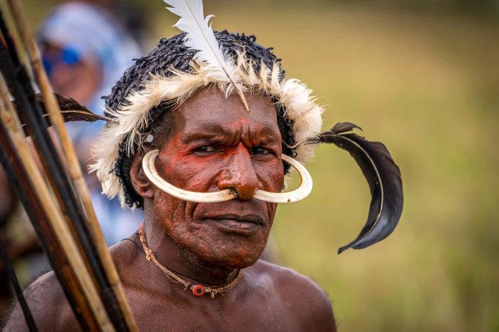 Представитель племени Дани.