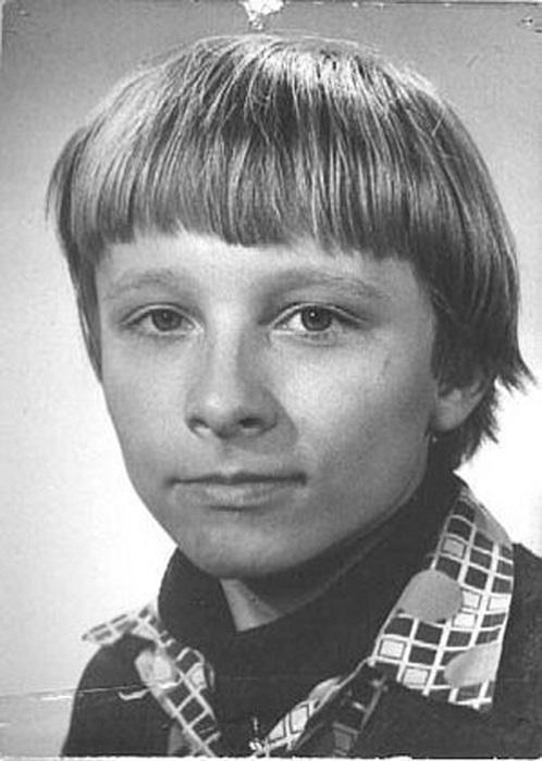 Иван Охлобыстин в детстве.