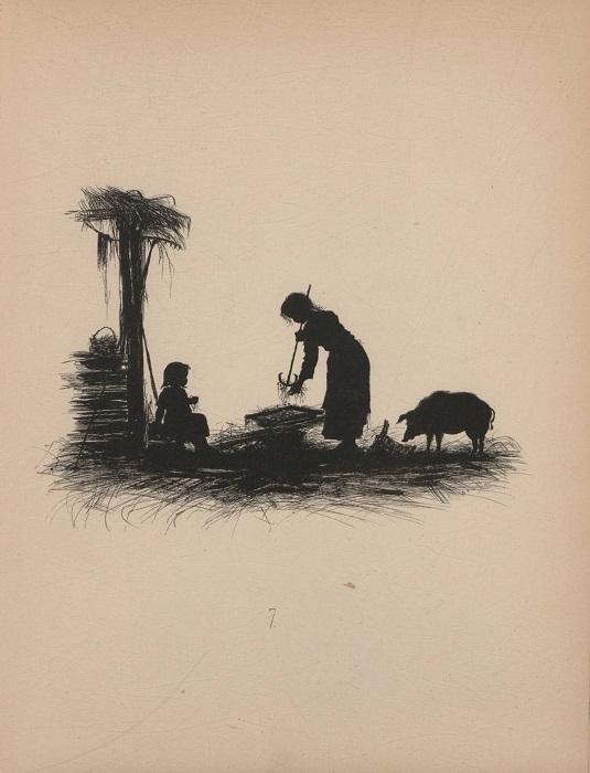 Зарисовка из сельской жизни.