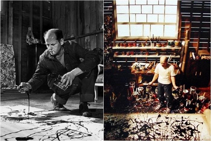 Студия американского художника, лидера абстрактного экспрессионизма 50-х годов ХХ века.