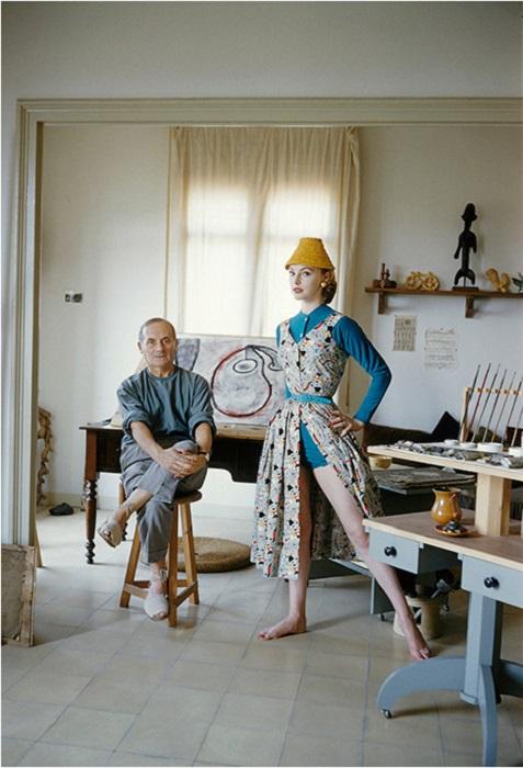 Студия всемирно известного каталонского художника, скульптора и мастера по керамике.