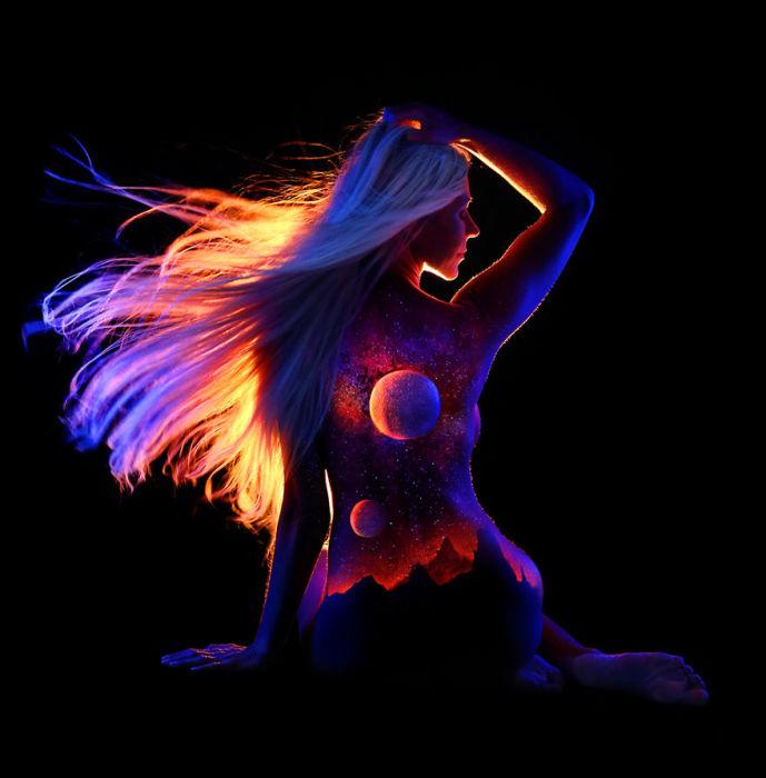 Огненная энергия с большой мощностью.
