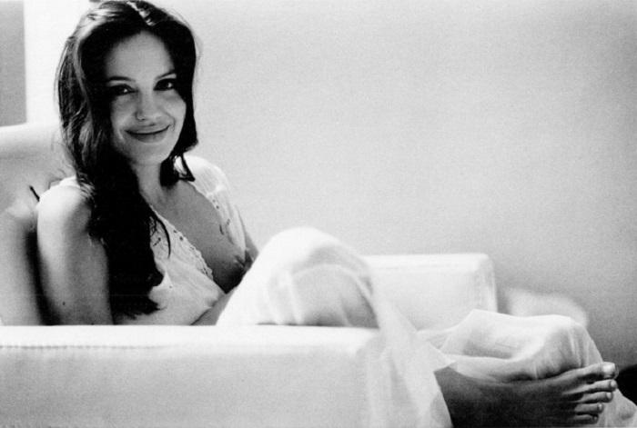 Анджелина Джоли вдали от фотовспышек и красных дорожек.