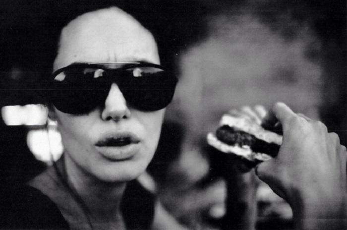 Анджелина в объективе Брэда Питта.