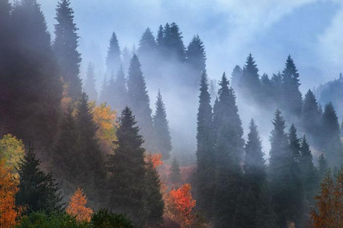 Поразительной красоты место, но там часто туманы.