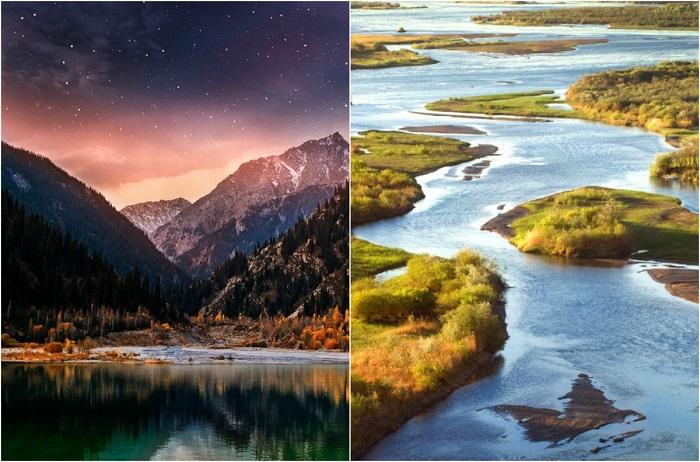 Красивый и удивительный Казахстан.