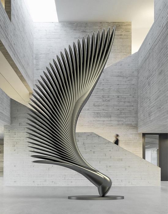 По мнению молодого американского скульптора, искусство должно идти в ногу со временем, и авторы должны применять новые технологии и инструменты.