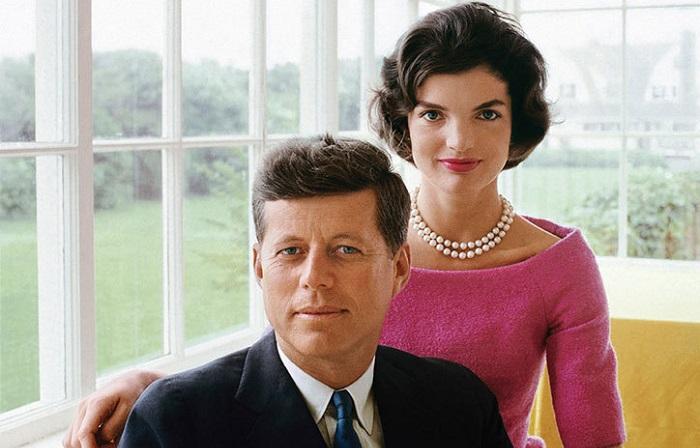 Редкие снимки легендарной супружеской пары Кеннеди.