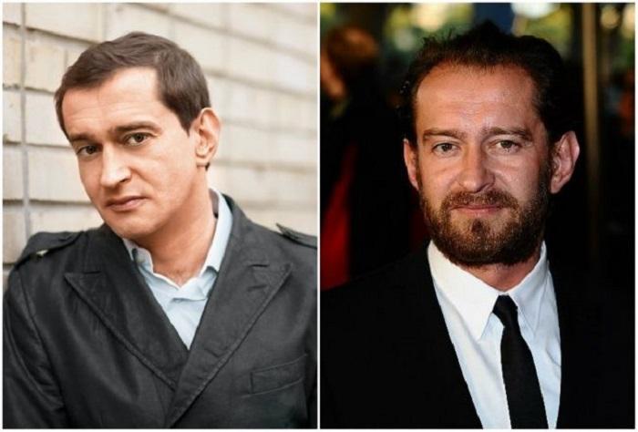 Любимые актёры: с бородой и без.