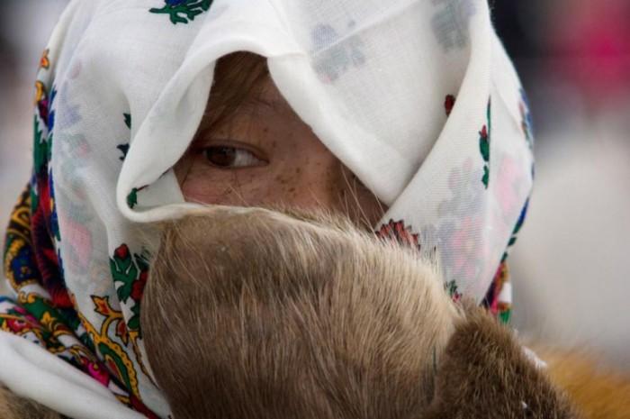 Коренная жительница Ханты-Мансийска.
