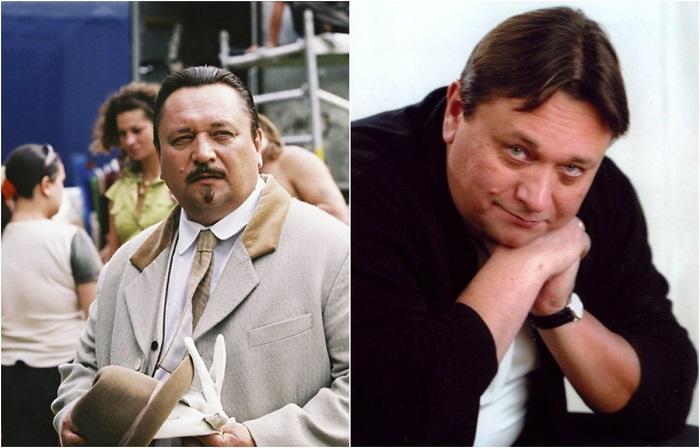 Актер снимается в кино, играет в спектаклях, занимается дубляжем, в фильме небольшая второстепенная роль премьер-министра Виктора Николаевича Пепеляева.