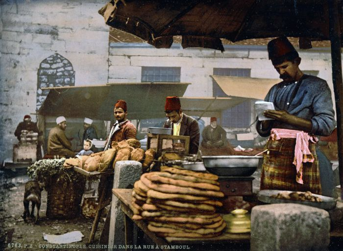 Жители Стамбула славились искусством приготовления пищи.