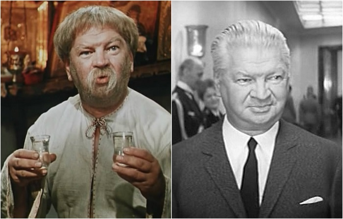 В экранизации повести Н. Гоголя советский актер театра и кино мастерски сыграл роль забавного кума Панаса.