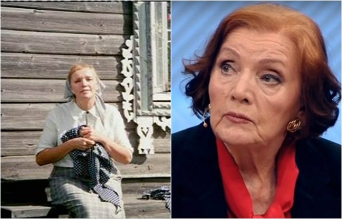 В лирической комедии тётя Фрося, тётка главного героя слесаря-сантехника Афанасия Николаевича Борщова, которая проживала в деревне.