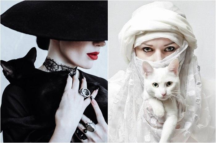 Портреты, полные шикарности и очарования.