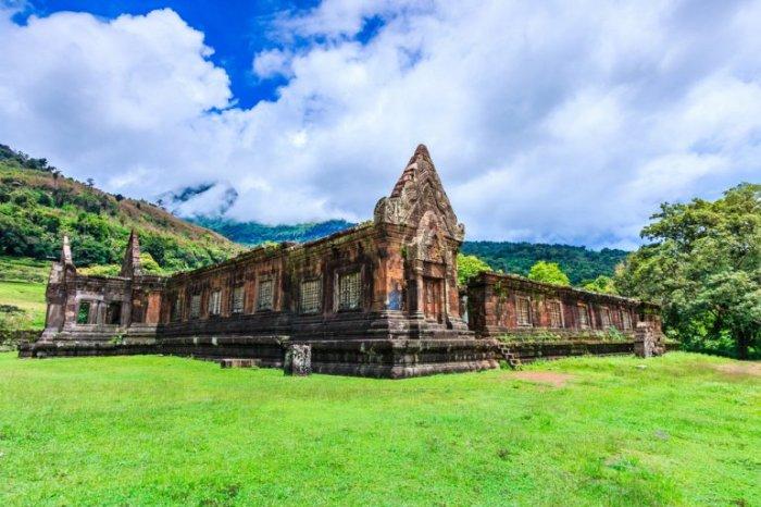 Великолепный храм в провинции Шампасак, построенный между 11 и 13 веками, является стратегическим местом в кхмерском королевстве.
